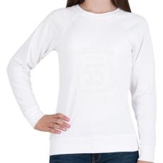 PRINTFASHION kamasz-55-white - Női pulóver - Fehér
