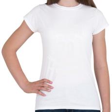 PRINTFASHION kamasz-70-white - Női póló - Fehér