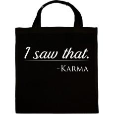 PRINTFASHION Karma - Vászontáska - Fekete