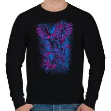 PRINTFASHION Kezdet - Férfi pulóver - Fekete