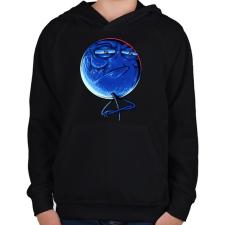 PRINTFASHION Kihívás elfogadva - Gyerek kapucnis pulóver - Fekete gyerek pulóver, kardigán