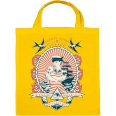 PRINTFASHION Klasszikus tengerész tetoválás - Vászontáska - Sárga