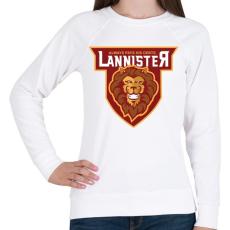 PRINTFASHION Lannister - Női pulóver - Fehér