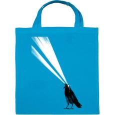 PRINTFASHION Laser crow - Vászontáska - Kék