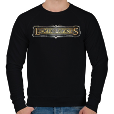 PRINTFASHION League of Legends - Férfi pulóver - Fekete