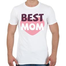 PRINTFASHION Legjobb Anya - Férfi póló - Fehér