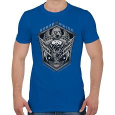 PRINTFASHION Legjobb motor - Férfi póló - Királykék