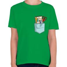 PRINTFASHION Légy különleges! - Gyerek póló - Zöld