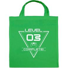 PRINTFASHION level-complete-03-white - Vászontáska - Zöld