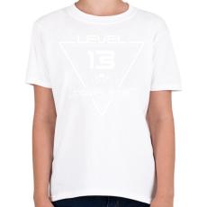 PRINTFASHION level-complete-13-white - Gyerek póló - Fehér