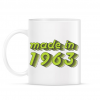 PRINTFASHION made-in-1963-green-grey - Bögre - Fehér