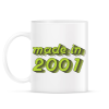 PRINTFASHION made-in-2001-green-grey - Bögre - Fehér