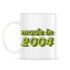 PRINTFASHION made-in-2004-green-grey - Bögre - Fehér