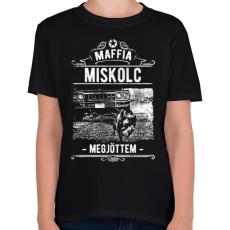 PRINTFASHION Maffia Miskolc - Gyerek póló - Fekete