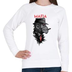 PRINTFASHION MAFIA - Női pulóver - Fehér