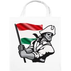PRINTFASHION Magyar Patrióta  - Vászontáska - Fehér