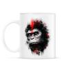 PRINTFASHION Majmok bolygója - Bögre - Fehér