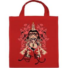 PRINTFASHION Majom bosszú - Vászontáska - Piros