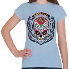 PRINTFASHION Mariachi - Női póló - Világoskék