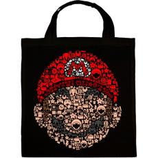 PRINTFASHION Mario - Vászontáska - Fekete