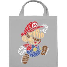 PRINTFASHION Mario - Vászontáska - Szürke