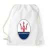 PRINTFASHION Maserati - Sportzsák, Tornazsák - Fehér
