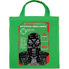 PRINTFASHION Mesterséges intelligencia - Vászontáska - Zöld