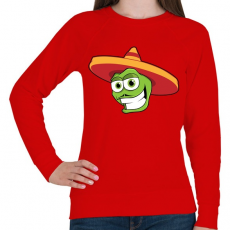 PRINTFASHION Mexico - Női pulóver - Piros