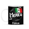 PRINTFASHION Mexikó - Bögre - Fekete