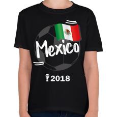 PRINTFASHION Mexikó - Gyerek póló - Fekete