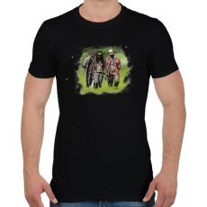 PRINTFASHION Michonne - Férfi póló - Fekete