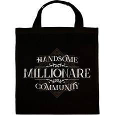 PRINTFASHION Millionare - Vászontáska - Fekete