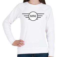 PRINTFASHION Mini - Női pulóver - Fehér