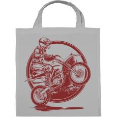 PRINTFASHION Motocross - Vászontáska - Szürke