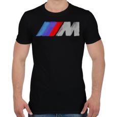 PRINTFASHION Motorsports - Férfi póló - Fekete