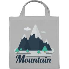 PRINTFASHION Mountain - Vászontáska - Szürke