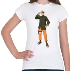 PRINTFASHION Naruto - Női póló - Fehér