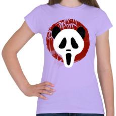 PRINTFASHION Panda Sikoly - Női póló - Viola