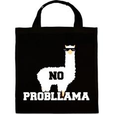 PRINTFASHION Probllama - Vászontáska - Fekete