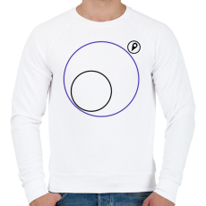 PRINTFASHION PUBG körön kívül - Férfi pulóver - Fehér