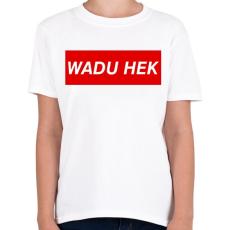 PRINTFASHION PUBG - WADU HEK - Gyerek póló - Fehér