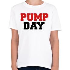PRINTFASHION PUMP DAY - Gyerek póló - Fehér