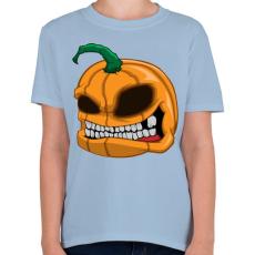 PRINTFASHION Pumpkin - Gyerek póló - Világoskék