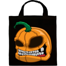 PRINTFASHION Pumpkin - Vászontáska - Fekete