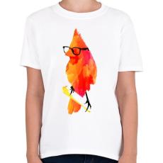 PRINTFASHION Punk birdy - Gyerek póló - Fehér