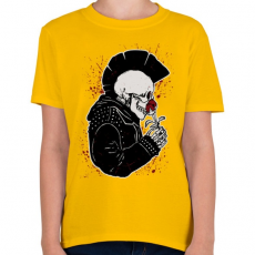 PRINTFASHION Punk szerelem - Gyerek póló - Sárga