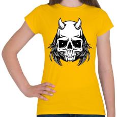 PRINTFASHION Ragadozó - Női póló - Sárga
