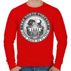 PRINTFASHION Rosszcsontok mindörökké - Férfi pulóver - Piros