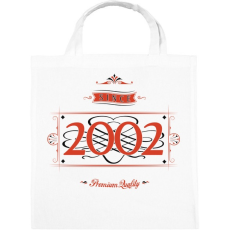 PRINTFASHION since-2002-red-black - Vászontáska - Fehér