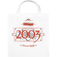 PRINTFASHION since-2003-red-black - Vászontáska - Fehér